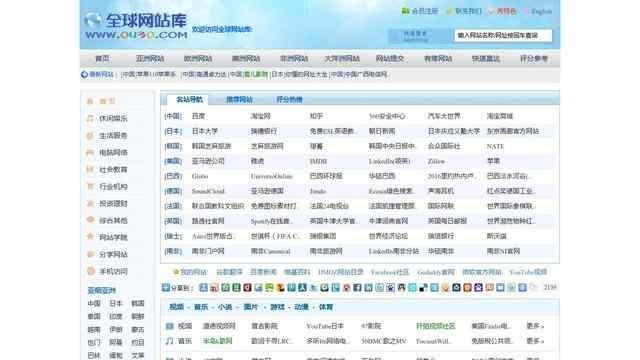 全球网站库