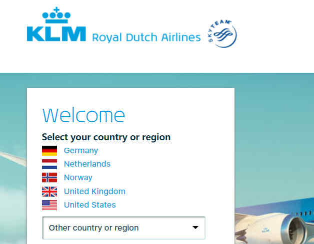 荷兰航空官网