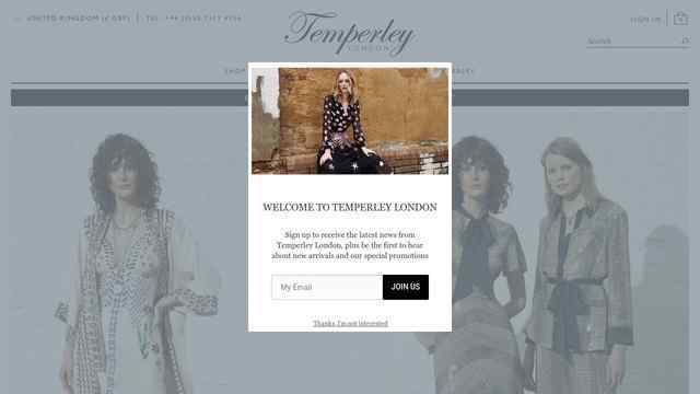 Temperley London官网
