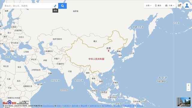 百度地图搜索