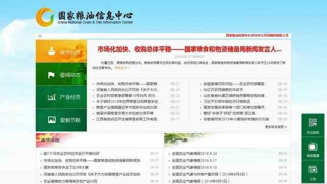 中国粮食信息网