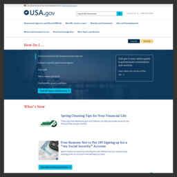 美国政府网站